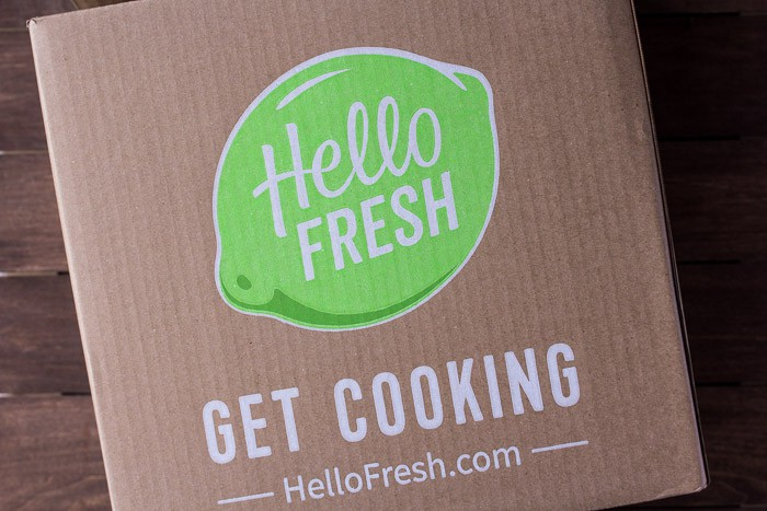 March 2018 Vegetarian Hello Fresh Review Box