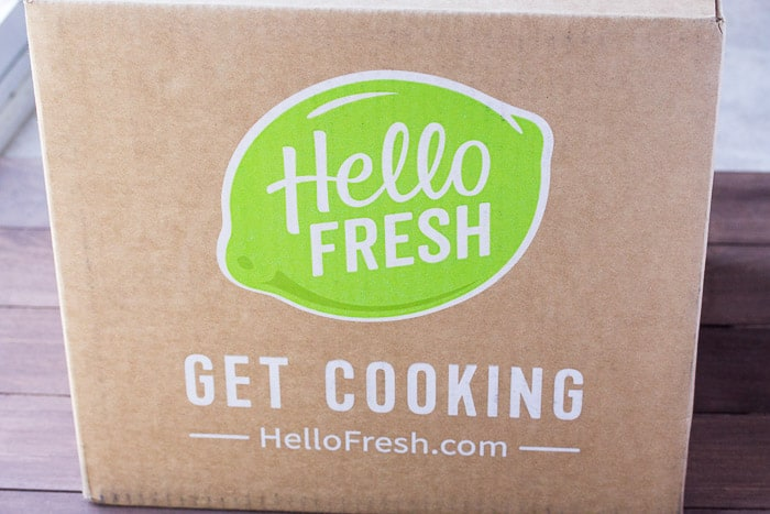 March 2018 Hello Fresh Review Box