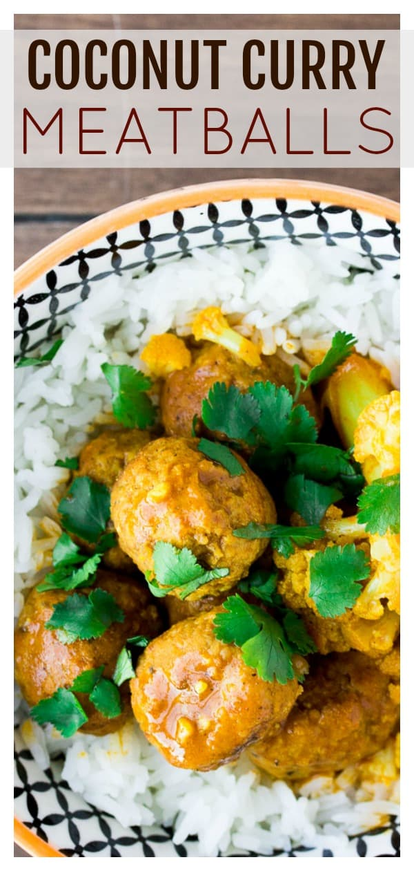 Looking for an easy recipe for your Instant Pot? Something a bit different, yet super flavorful? Try this Coconut Curry Meatballs recipe made with Farm Rich Homestyle Meatballs! It's a delicious main dish your whole family will love! | #ad #dlbrecipes #curry #meatballs #farmrich