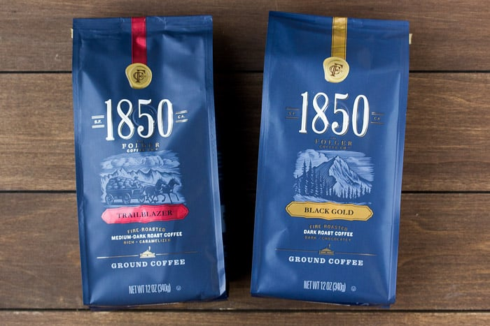 1850 Brand Coffee in Trailblazer and Black Gold
