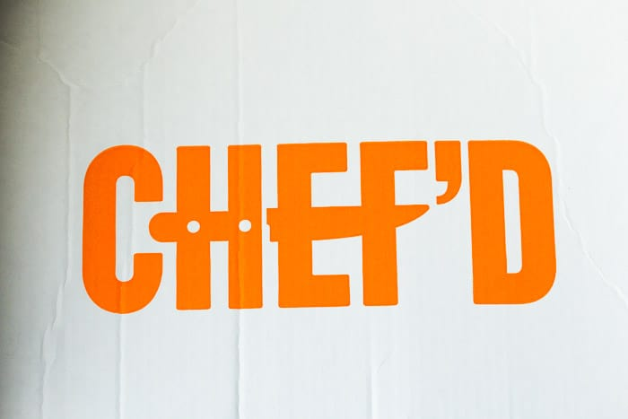 Chef'd Logo from the May 2018 chef'd review