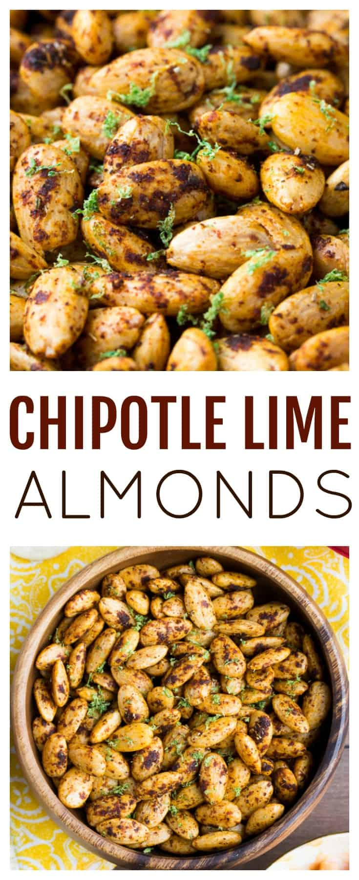 These Chipotle Lime Almonds are an easy way to spice up snack time! This easy recipe takes only a few minutes and is a great appetizer or snack for entertaining! | #ad #IC #UpgradeYourSummer #almonds #snack #appetizer