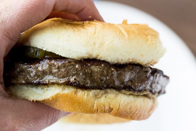 Fareway Steak Burger on a Bum
