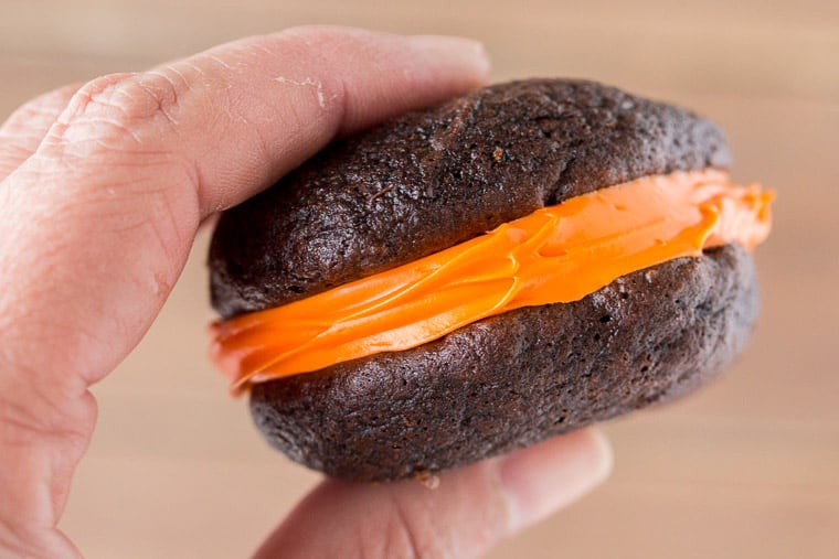 A Single Smaller Whoopie Pie