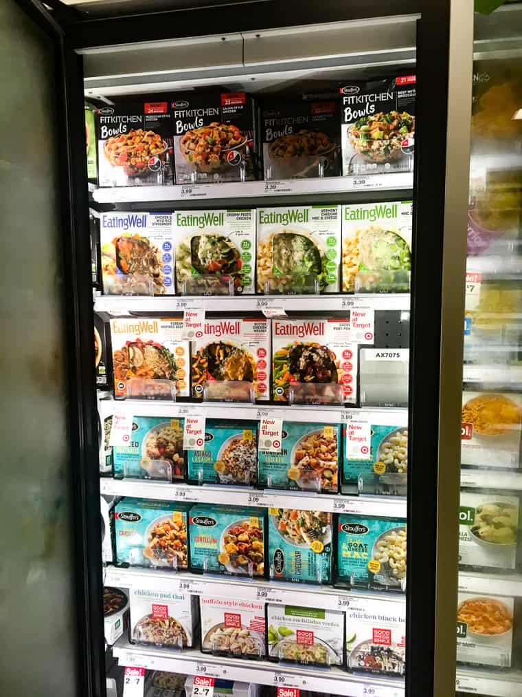 EatingWell Meals in the Freezer Section at Target