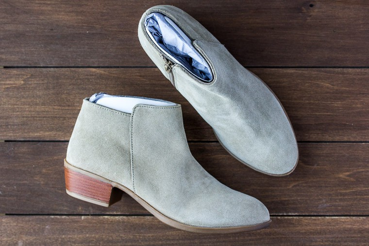 DIBA Lovely Suede Bootie from Stitch Fix Fall 2018 | AD #stitichfix #stitchfixreview #fallfashion #fall2018stitchfix #booties