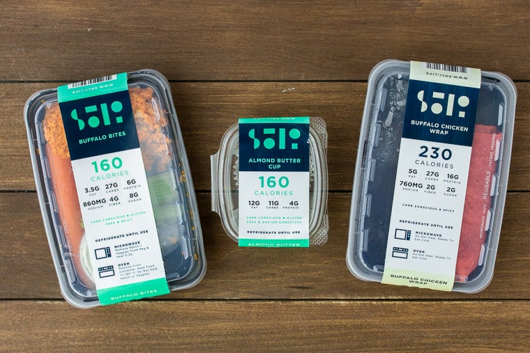 Soli Meals in Containers
