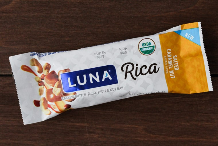 Luna Rica Bar on a Wood Backdrop