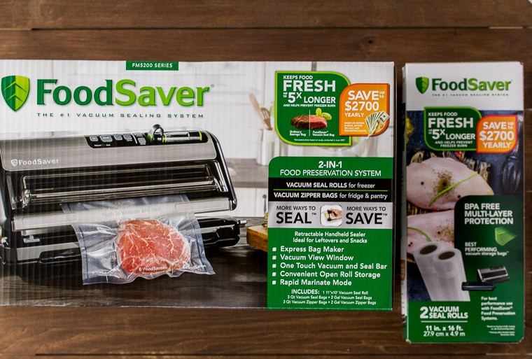 FoodSaver and Refills Packaging