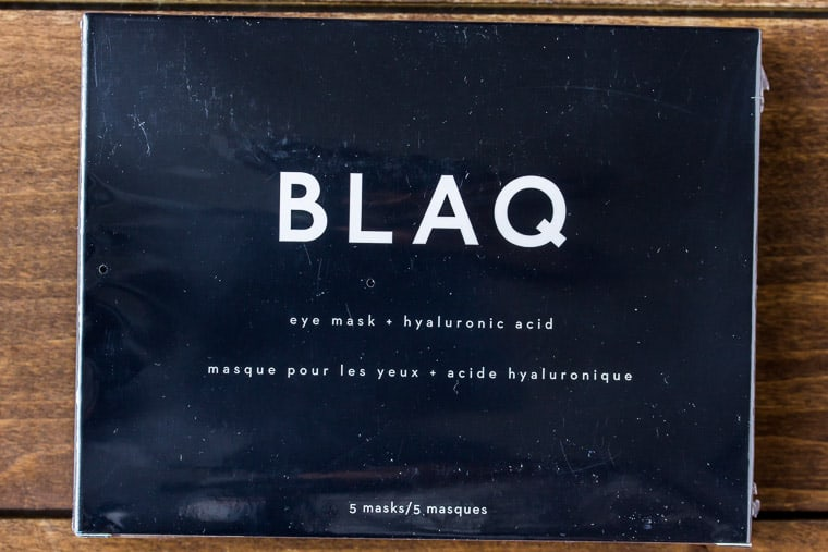 Blaq Hydrogel Eye Mask with Hyaluronic Acid