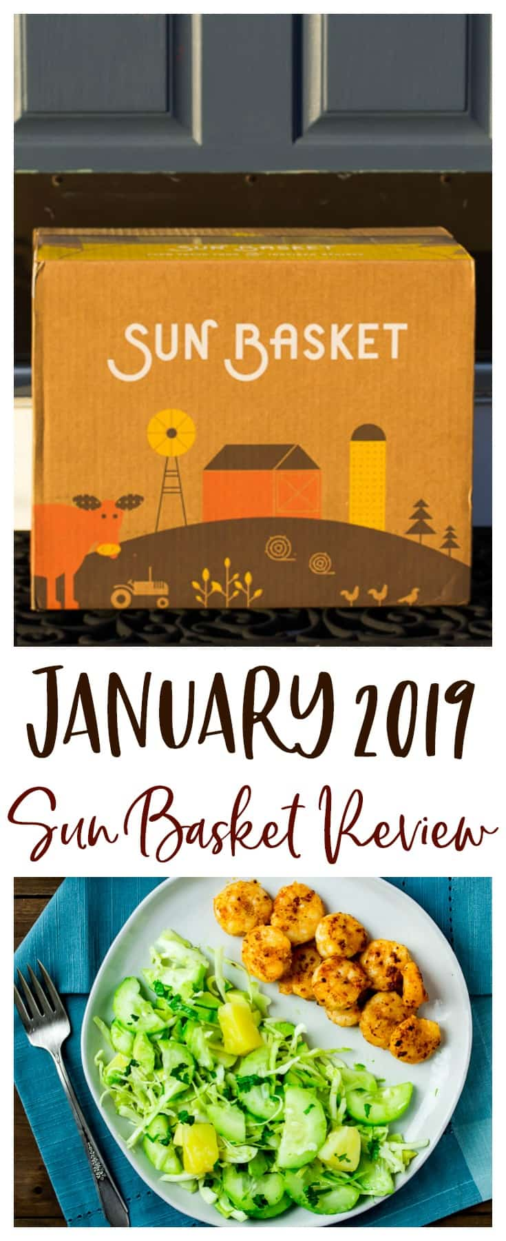 January 2019 Sun Basket Review - get all the details on this meal kit subscription box and a review of the 3 healthy recipes that I tried! PLUS the best deal available for 1st time subscribers! | #ad #sunbasket #sunbasketmeals #2019sunbasket #organic