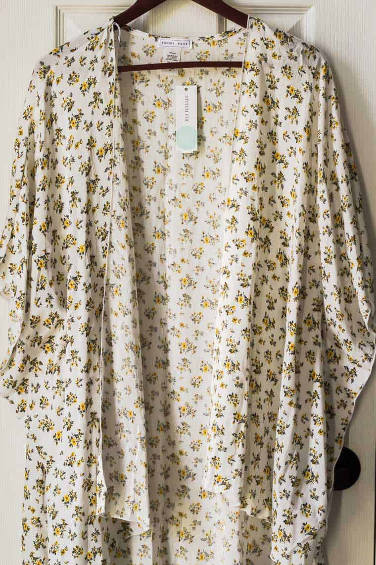 Emory Park Roxy Open Kimono from Stitch Fix