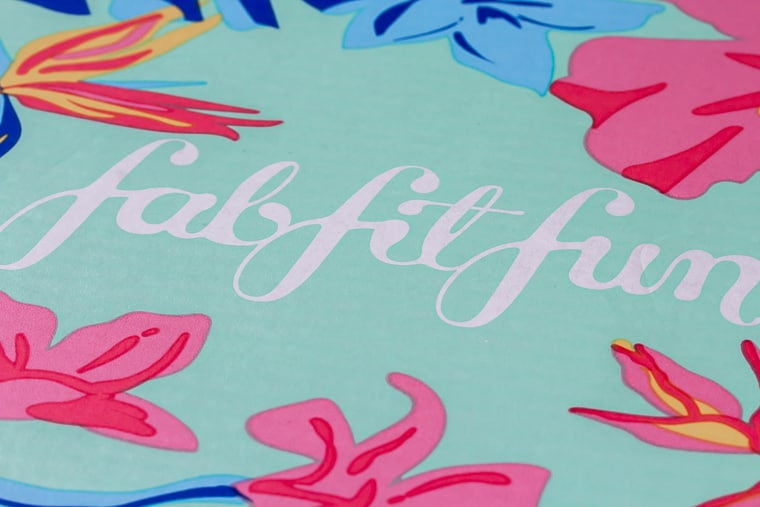 Summer 2019 FabFitFun box logo close up