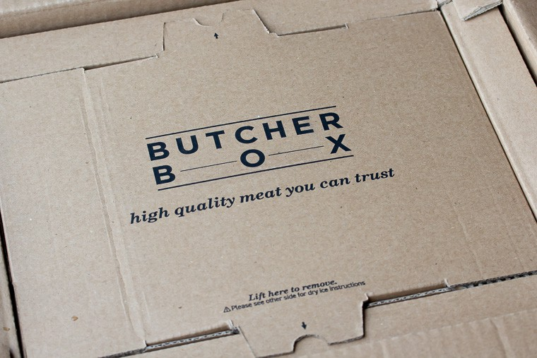 Butcher Box Packaging up close