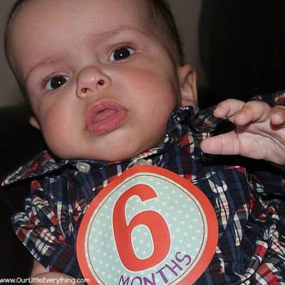 Benjamin's 6 Month Photo