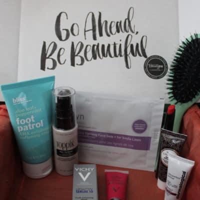 BeautyFIX December 2015 Subscription Box