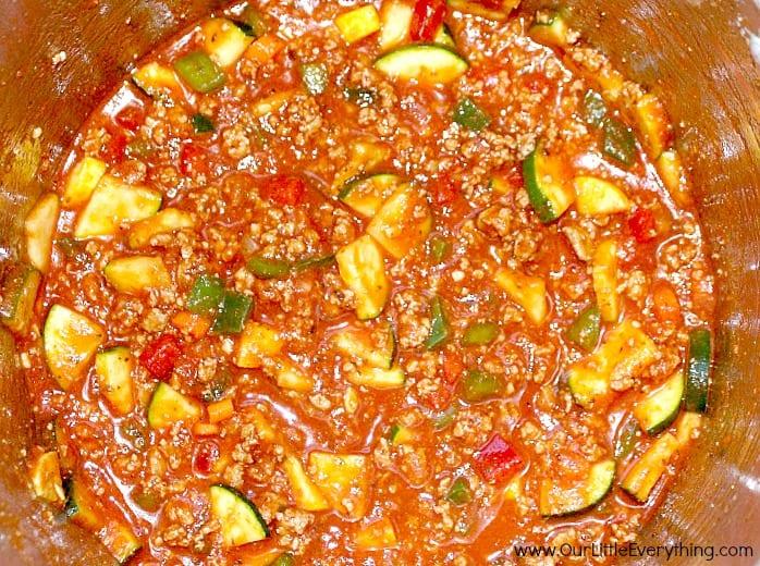Sauce in Pot