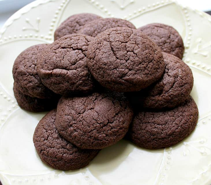 Gluten Free Basic Chocolate Cookies