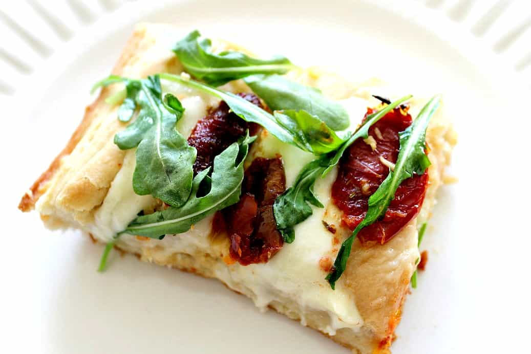Focaccia-Pizza-with-Arugula-Sun-Dried-Tomatoes-and-Fresh ...