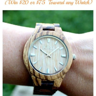 Fall Favorites + A JORD Watch Contest!