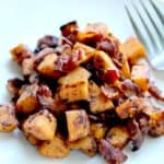 Maple Bacon Sweet Potato Hash