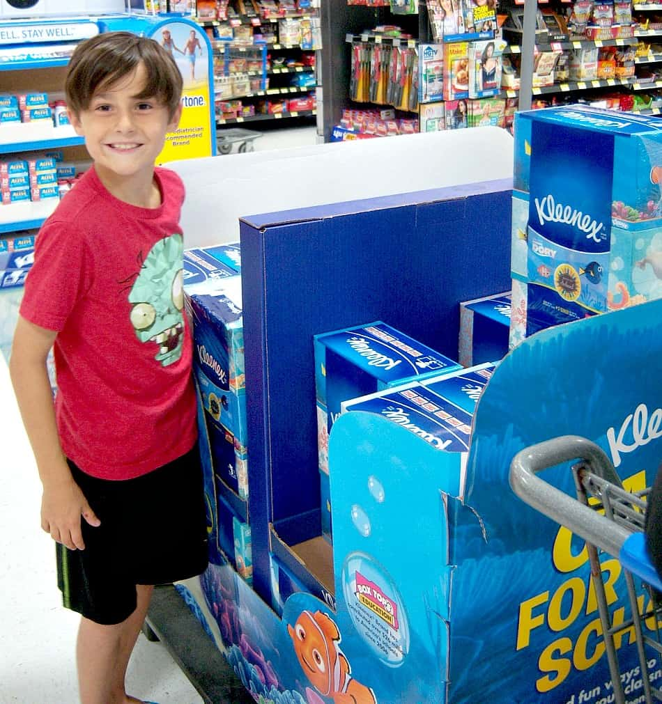 Where to Find Kleenex and Viva Paper Towels in Walmart