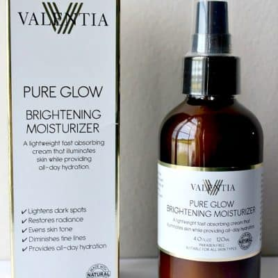 Review:  Valentia Pure Glow Brightening Moisturizer
