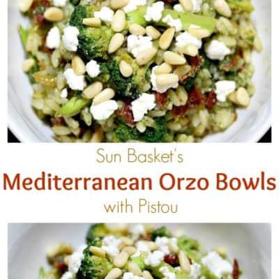 Mediterranean Orzo Bowls with Pistou