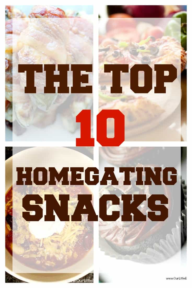 Top 10 Homegating Snacks