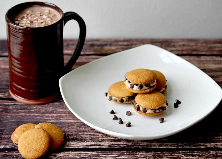 Peanut Butter Chocolate Chip NILLA Wafer Sandwiches