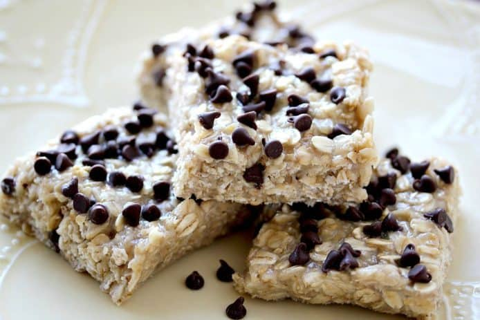 Amazing No Bake Sesame Vanilla Oat Bars