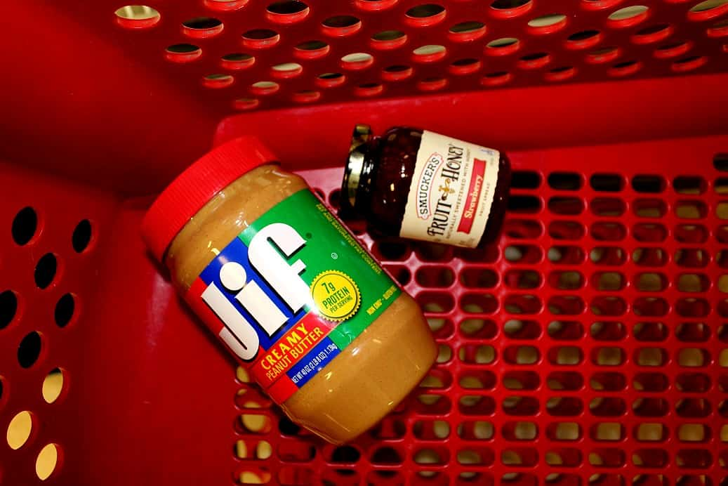 Jif and Smuckers at Target