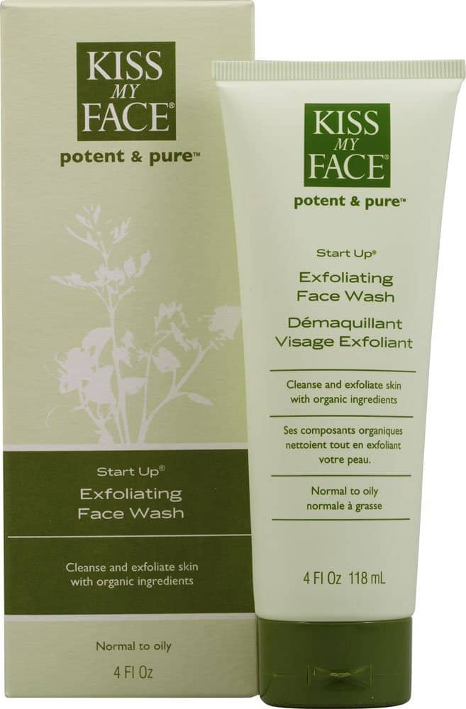 Kiss My Face Start Up Exfoliating Face Wash