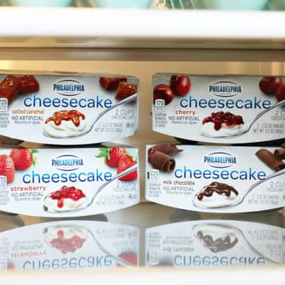 Secret Snacking with Philadelphia Cheesecake Cups