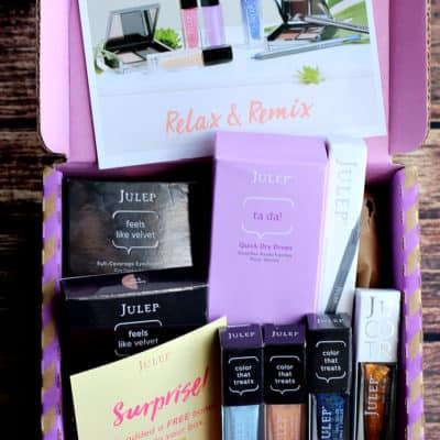 April 2017 Julep Subscription Box