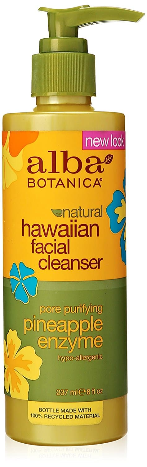 Alba Botanica Hawaiian Facial Cleanser with Pineapple Enzymes