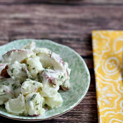 Creamy Lemon Tarragon Potato Salad