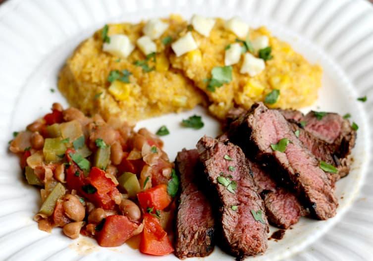 Green Chef Mole-Spiced Steak