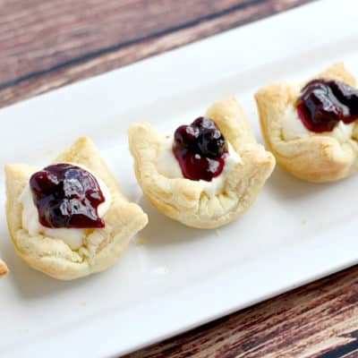 This post provides you with two easy tutorials on how to make puff pastry cups two ways - shallow and deep! They are a fun delicious way to serve appetizers and desserts!
