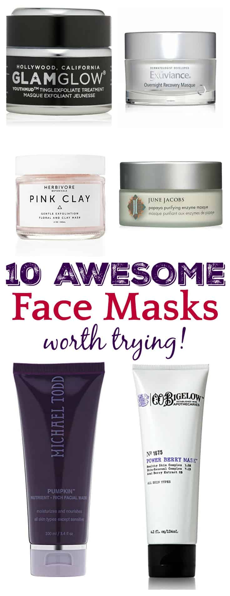 With so many beauty brands and products on the market today, it can be hard to determine which products are actually worth your money. You need to determine what you want out of a mask first, then choose which ones are right for you. These 10 Awesome Face Masks are tried and true and a good place to start!
