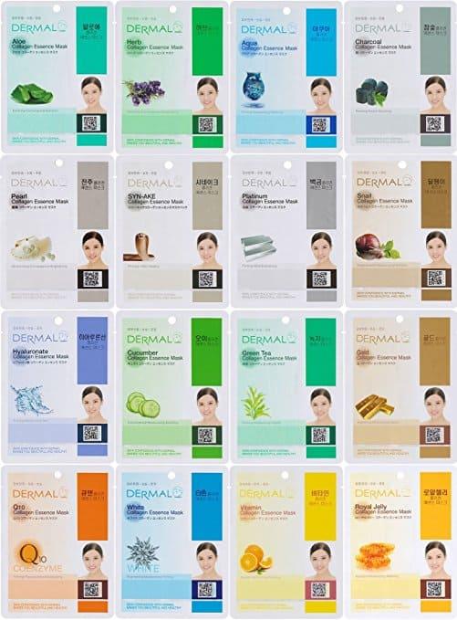 Dermal Korea Sheet Masks