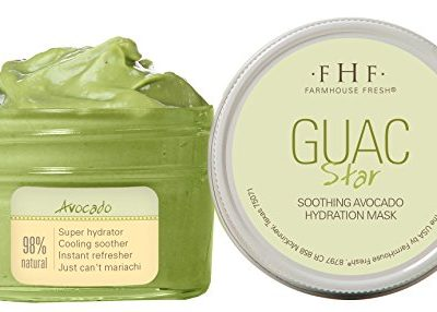 Farmhouse Fresh Guac Star Mask