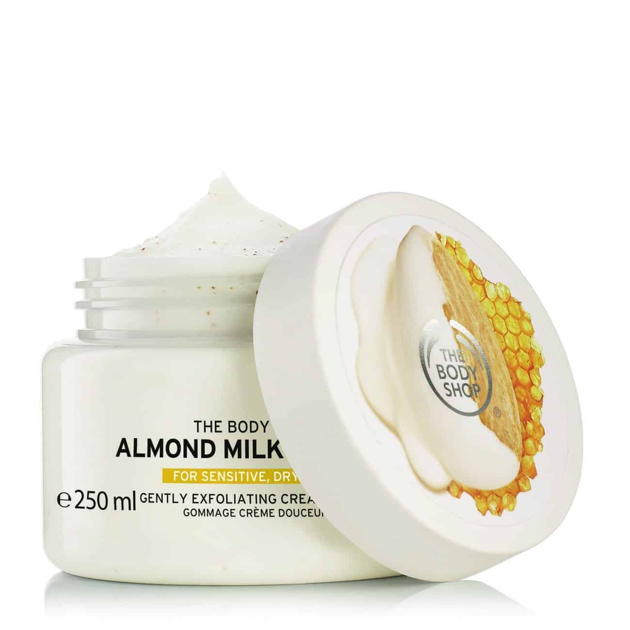 The Body Shop Almond Milk and Honey Body Scrub
