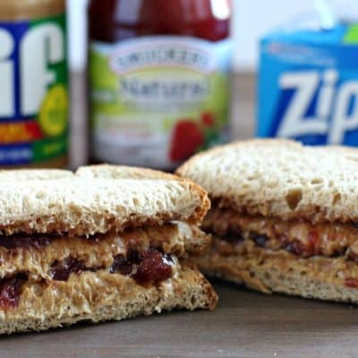 Back to School – Big Kid PBJ Sandwich
