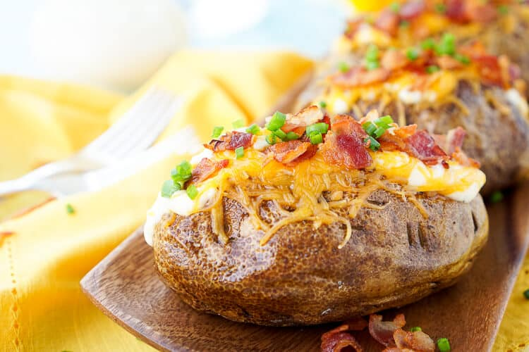 Best Ever Baked Potatoes Recipe