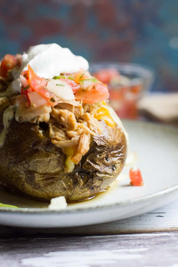 Tex Mex Loaded Potatoes