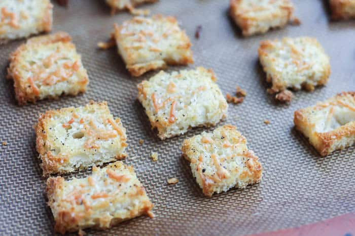 Baked Homemade Croutons
