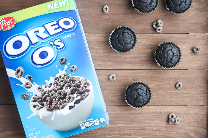 Oreo O's Cereal and Chocolate Cereal Muffins