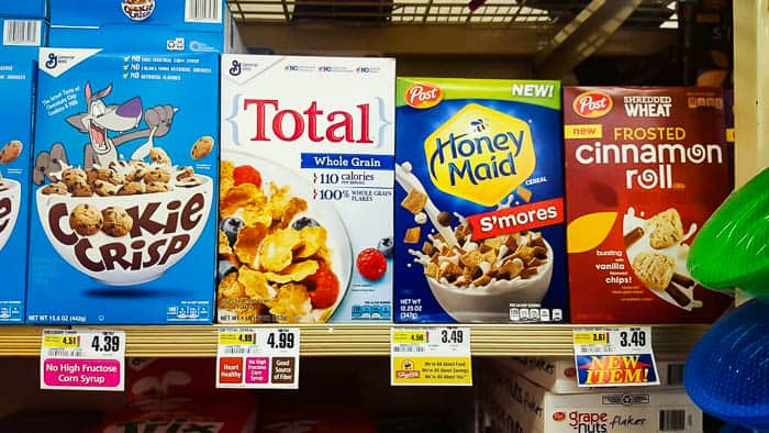 Honey Maid S'mores Cereal on the Shelf at ShopRite