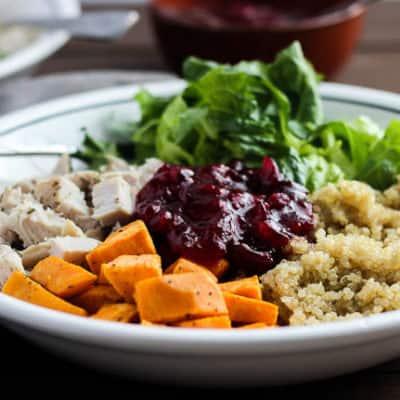 Healthy Turkey Quinoa Bowls